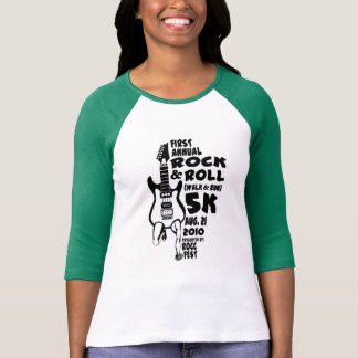 Rock and Roll Camiseta