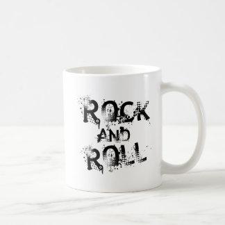 Rock and roll caneca de café