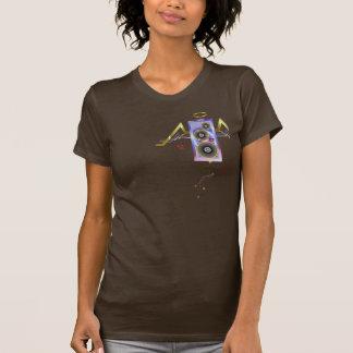 Rockin o halo! T-shirt das senhoras