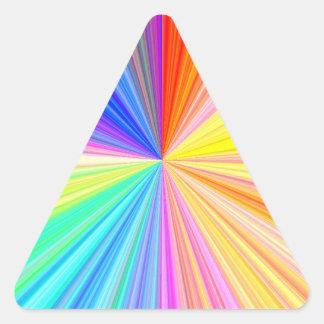 Roda da máscara da cor - extremo do arco-íris adesivos
