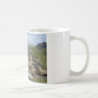 Roda de água caneca de café
