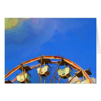 Roda de Ferris justa do estado, Indianapolis, Cartão