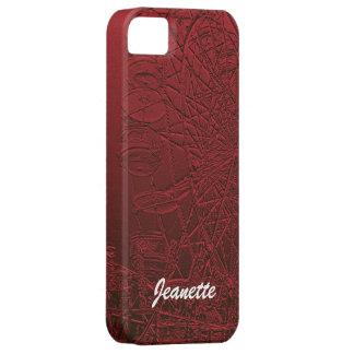 Roda de Ferris vermelha do caso do iPhone SE/5/5S Capa Para iPhone 5