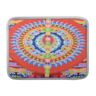 Roda do Chariot do VINTAGE - festivais Rajasthan Bolsas De MacBook Air