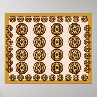Rodas DOURADAS - gráfico de computador Transfomati Impressão