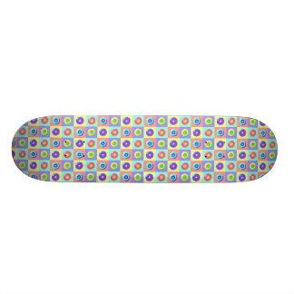 Rodas - telhadas shape de skate 21,6cm