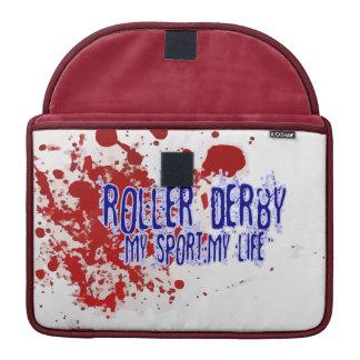 Rolo Derby: Meu esporte, minha vida! Bolsa Para MacBook