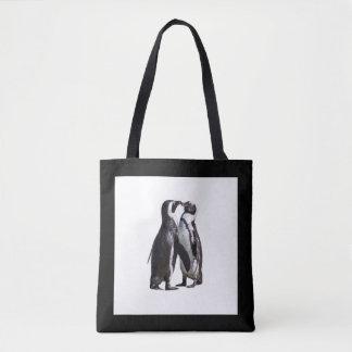 Romance do pinguim bolsas tote