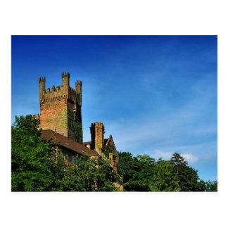romantic castle cartão postal