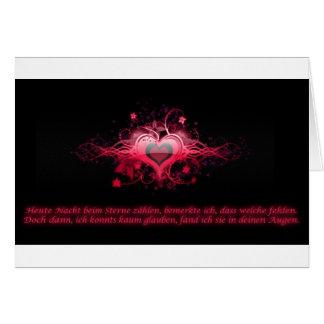 Romantismo em Pink Cartões