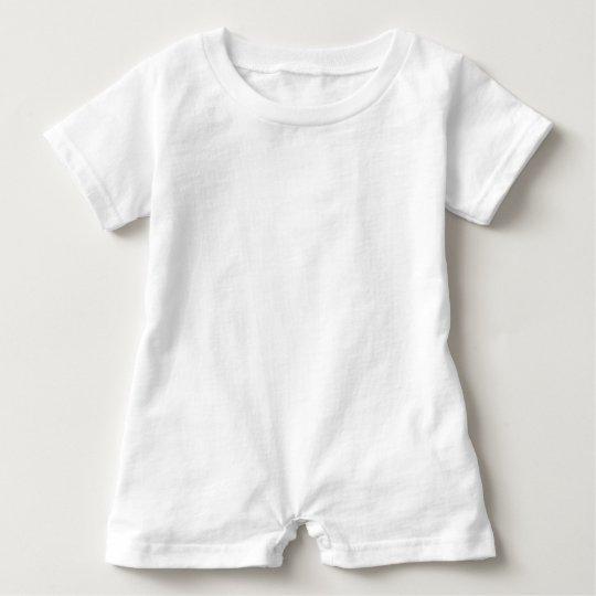 Macacão Romper para Bebê, Branco