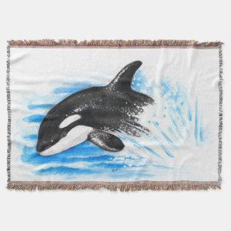 Rompimento da orca throw blanket