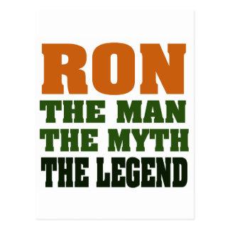 RON - homem, o mito, a legenda Cartoes Postais