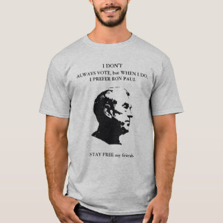 Ron Paul T-shirts