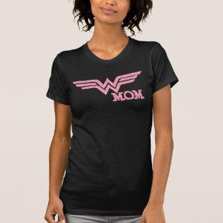 Rosa da mamã da maravilha t-shirt