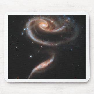 Rosa das galáxias mouse pads