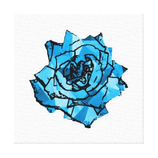 Rosa do azul