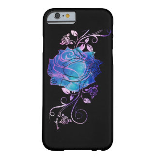 Rosa do azul capa barely there para iPhone 6