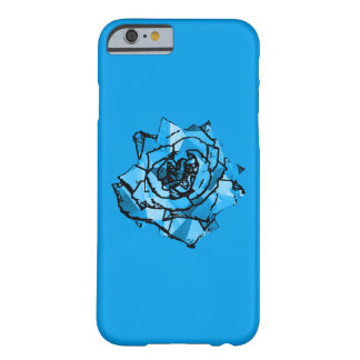 Rosa do azul capa barely there para iPhone 6