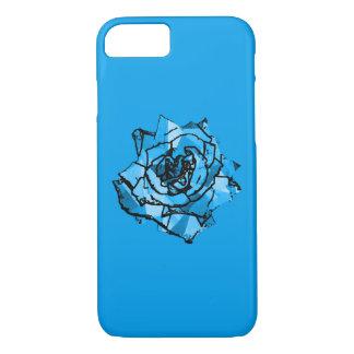 Rosa do azul capa iPhone 7