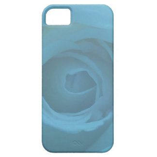Rosa do azul capa para iPhone 5