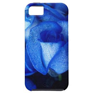 Rosa do azul capa de iPhone 5 Case-Mate