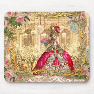 Rosa do partido de Marie Antoinette Versalhes Mouse Pad
