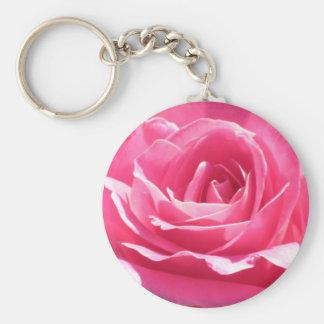 Rosa do rosa chaveiro