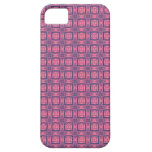 rosa e roxo capa de iPhone 5 Case-Mate