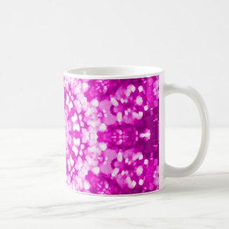 Rosa islâmico da arte geométrico caneca de café