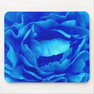 Rosa Mousepad do azul - customizável