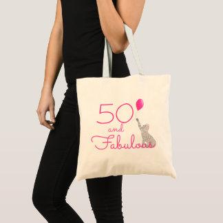 Rosa quente 50 e o bolsa fabuloso do aniversário