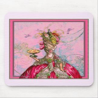 Rosa quente & pavão de Marie Antoinette Mousepads