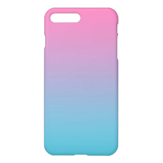 Rosa & turquesa Ombre Capa iPhone 7 Plus