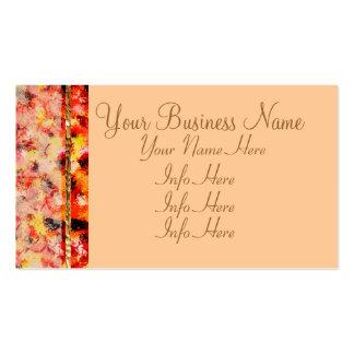 Rosas abstratos cor-de-rosa do laço cartão de visita
