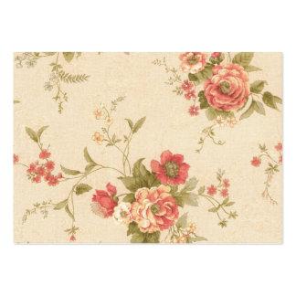 rosas de COM do imagem Cartão De Visita Grande