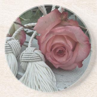 Rosas e porta copos das borlas