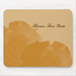 Rosas para você mousepad