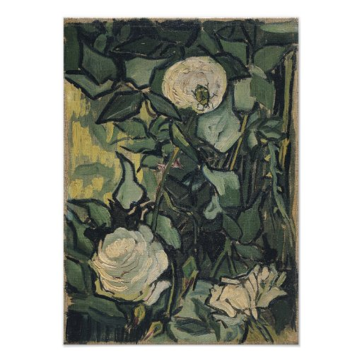 Rosas por Vincent van Gogh Artes De Fotos