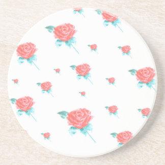 rosas porta copos de arenito