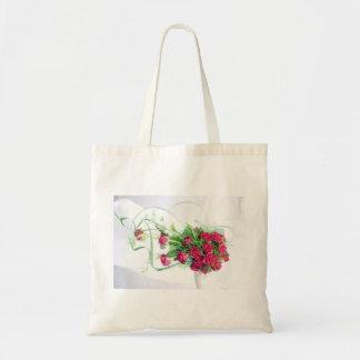 Rosas vermelhas que Wedding o buquê Bolsa De Lona