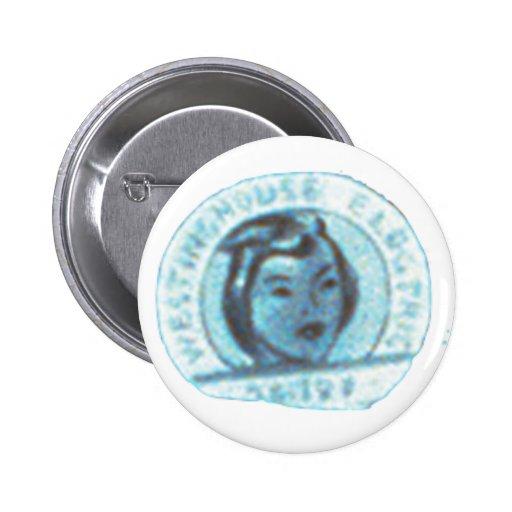 Rosie o botão do rebitador boton