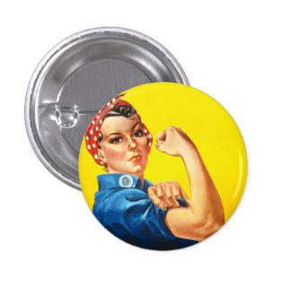 Rosie o botão do rebitador bóton redondo 2.54cm