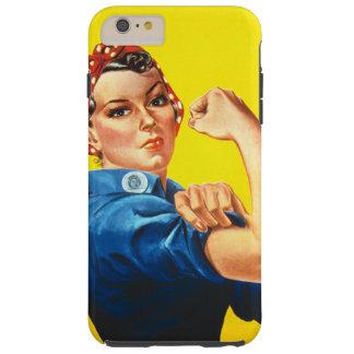 Rosie o rebitador capa tough para iPhone 6 plus