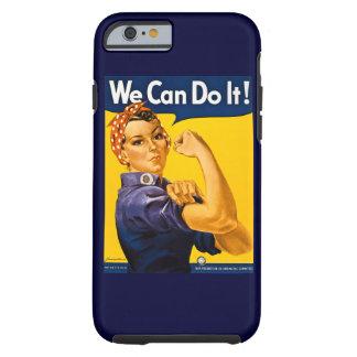 Rosie o rebitador nós podemos fazê-lo vintage capa tough para iPhone 6