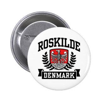 Roskilde Dinamarca Bóton Redondo 5.08cm