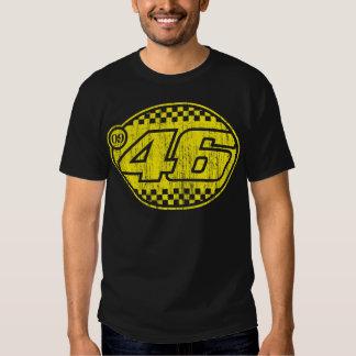 Rossi '09 (amarelo do vintage) t-shirt