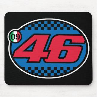 Rossi '09 (vermelho torrado) mouse pad