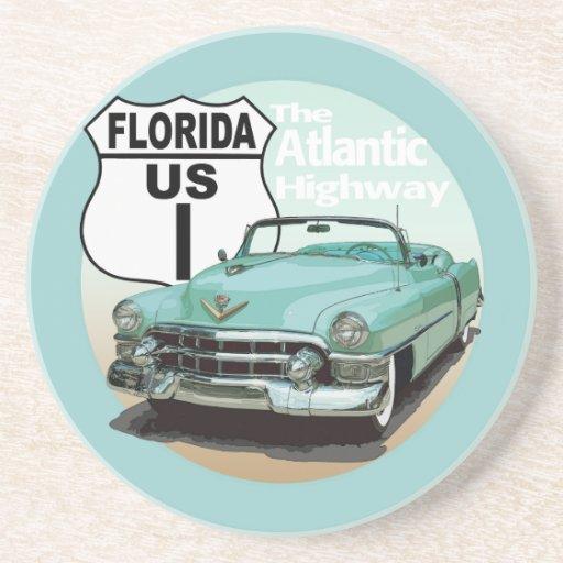 Rota 1 de Florida E.U. - a estrada atlântica Porta Copos Para Bebidas