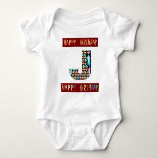 Roteiro de HappyBirthday - alfabeto ALFA Camiseta